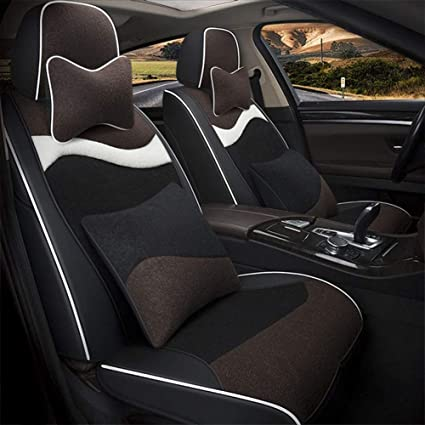 Amazon.com: YUYE - Funda para asiento de coche, 5 asientos ...