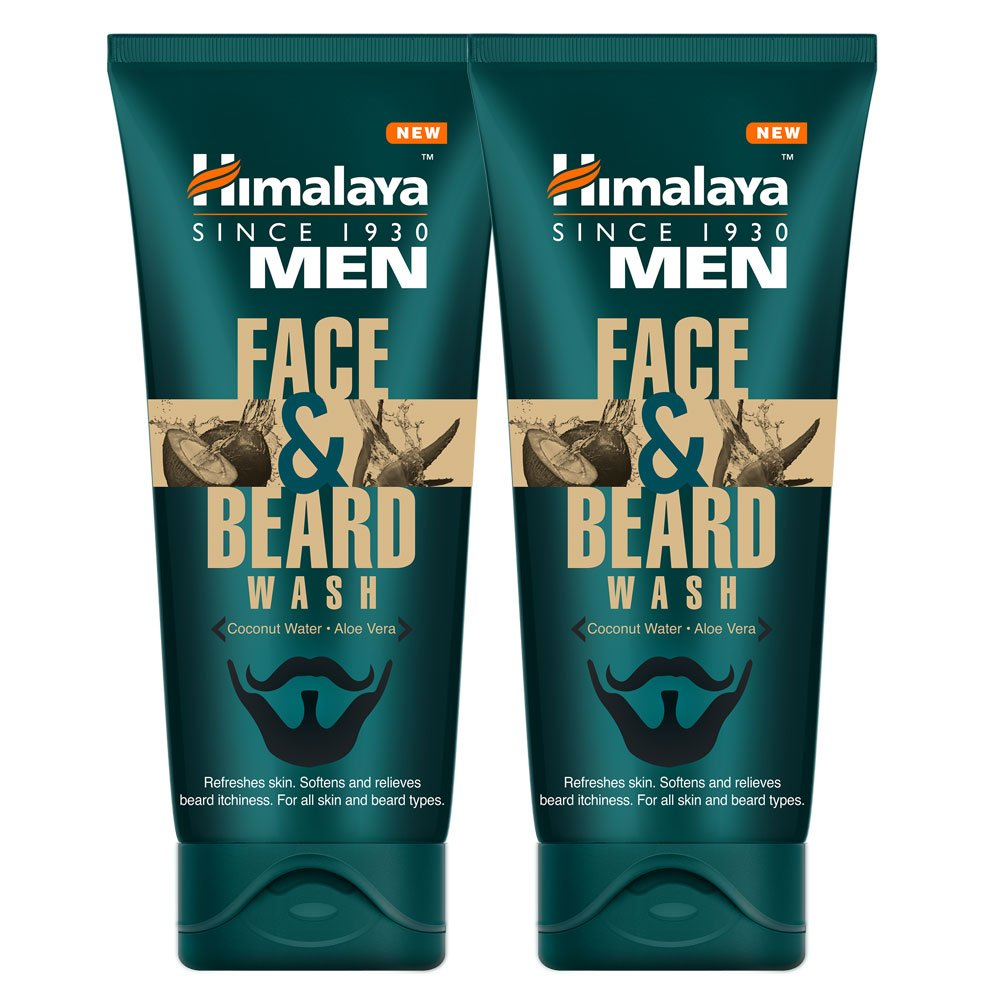 Terrific Himalaya Men Face And Beard Wash 80Ml Pack Of 2 Amazon In Beauty Natural Hairstyles Runnerswayorg