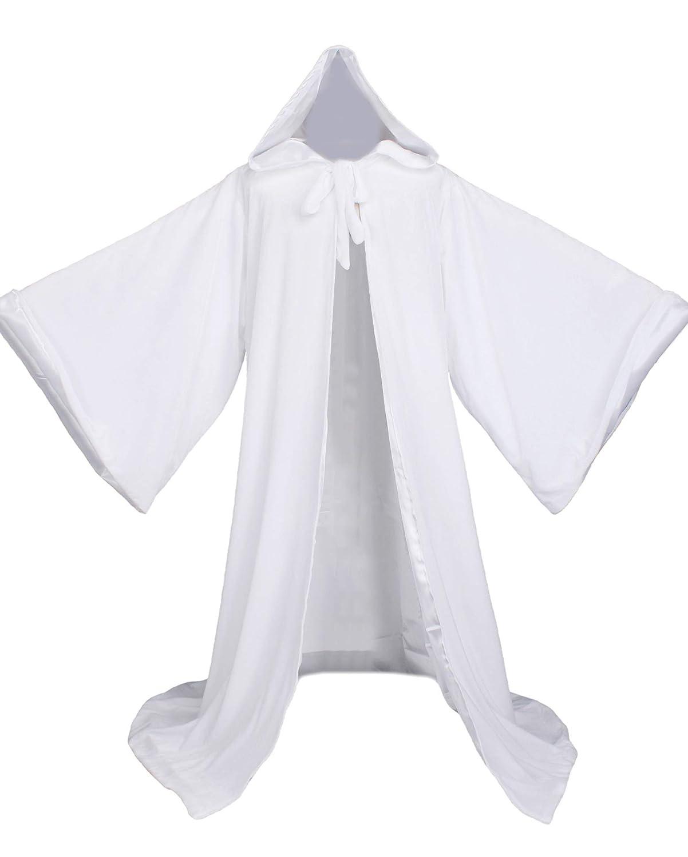 Lucky mjmy Terciopelo Mago Wicca Robe Gótico Abrigo con Capucha ...