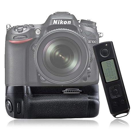 Mcoplus DR7100 Grip Batería para Nikon D7100 Incluye Mando a ...