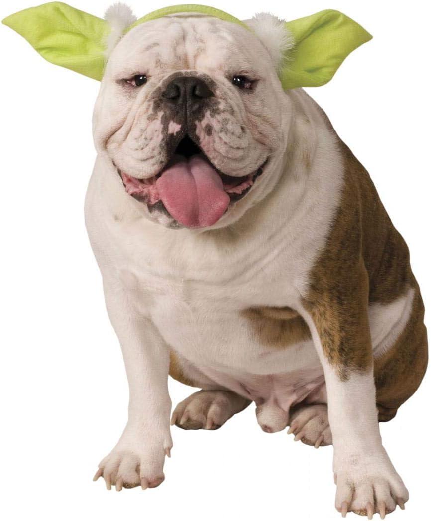 Horror-Shop Star Wars Yoda Ohren als Kost/üm Zubeh/ör f/ür Hund /& Katze M//L