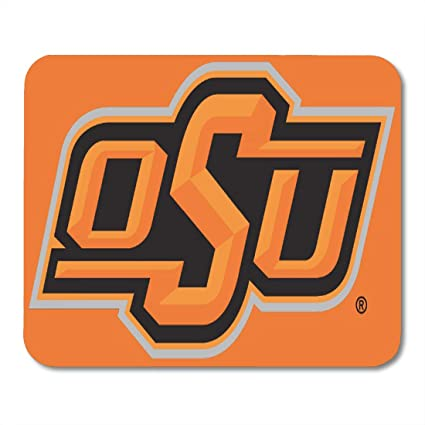 Amazon Com Aikul Mouse Pads Cowboys Osu Oklahoma State Fan