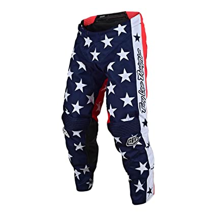 Troy Lee Designs GP Independence Limited Edition Mens Off-Road Motorcycle Pants Navy//Red 28