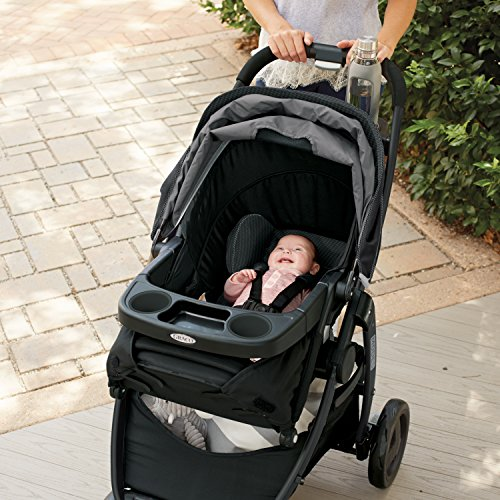 61zbYgsAcCL - Graco Modes Travel System | Includes Modes Stroller And SnugRide SnugLock 35 Infant Car Seat, Dayton