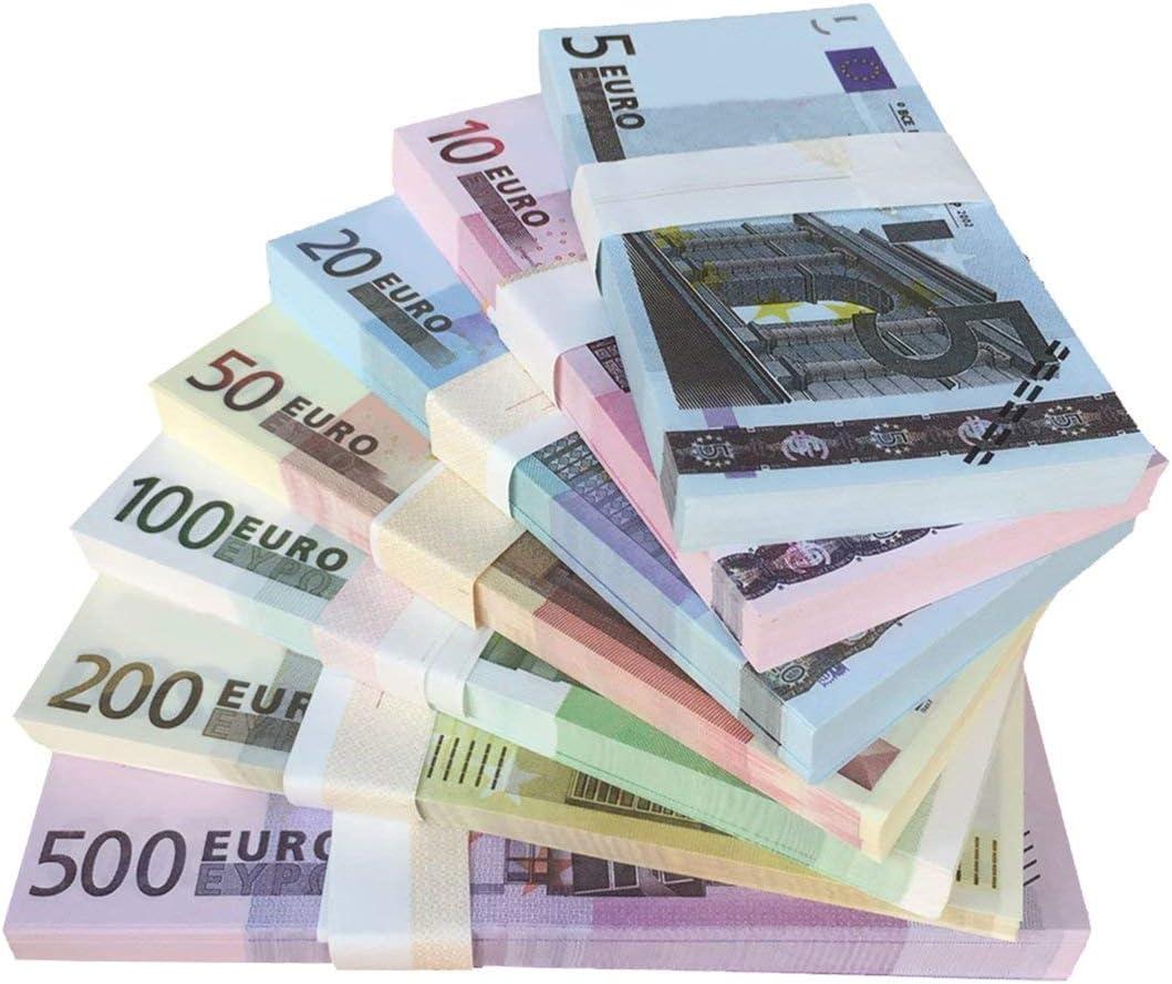 fgdjfhsdfgsdfh 5 10 20 50100200500500 Billets en Or en 24K Faux Papier-Monnaie en Or pour la Collection de Billets en Euros