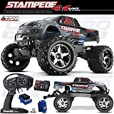 Traxxas 67086-4 1 10 Stampede 4X4 VXL 4WD Electric Monster Truck - Colors Vary