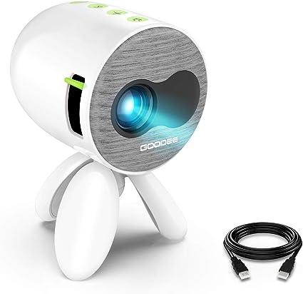 Amazon.com: Proyector, GooDee Portátil Mini Proyector LED ...