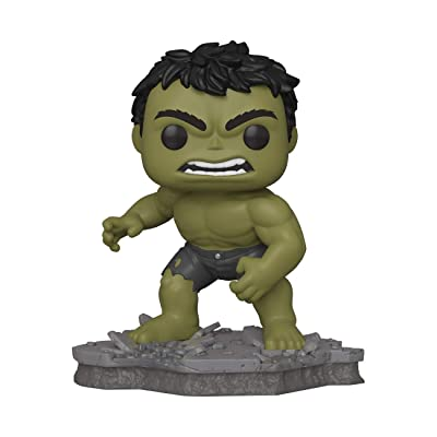 Funko Pop! Deluxe, Marvel: Avengers Assemble Series - Hulk, Exclusive, Figure 2 of 6: Toys & Games