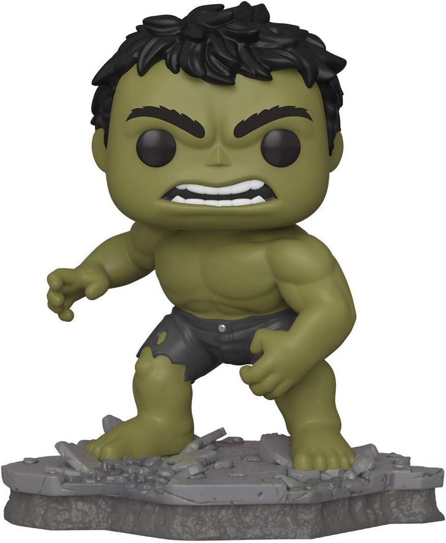 Funko Pop! Deluxe, Marvel: Avengers Assemble Series - Hulk, Amazon Exclusive, Figure 2 of 6