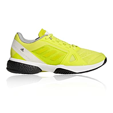 adidas ASMC Barricade Boost Womens Tennis Shoes - SS18-5.5 - Yellow