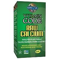 Garden of Life Raw Calcium Supplement - Vitamin Code Whole Food Calcium Vitamin...