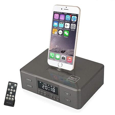 OOLIFENG Despertador con Radio FM, Cargador USB para ...