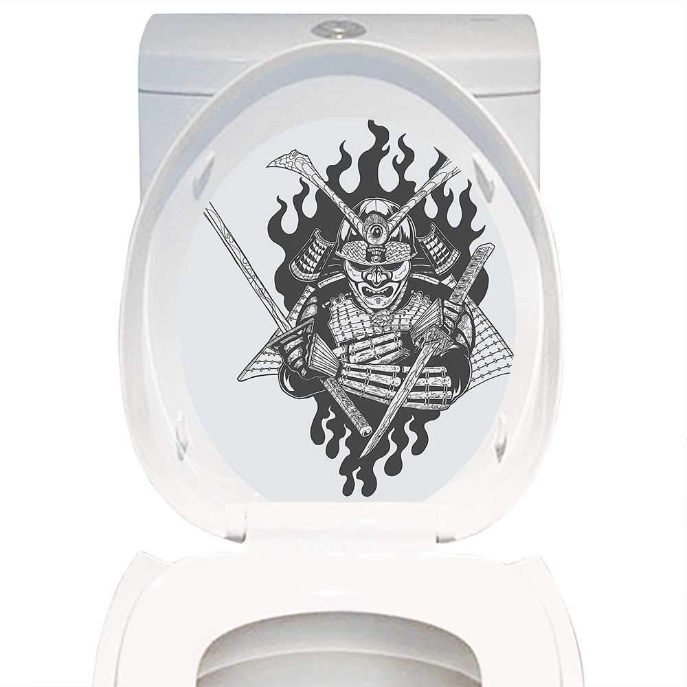 Amazon.com: Toilet Sticker Themeative Print Japanese Decor ...