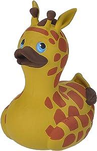 "Wild Republic Rubber Ducks, Bath Toys, Kids Gifts, Pool Toys, Water Toys, Giraffe, 4"""