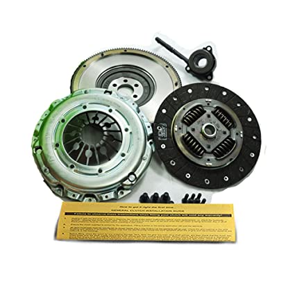 Amazon.com: VALEO HD CLUTCH KIT& SOLID FLYWHEEL 02-05 VW BETTLE S GOLF GTI 337 JETTA 6-SPEED: Automotive