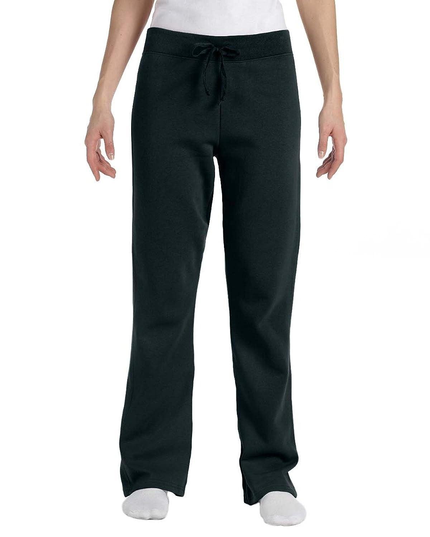 Hanes Women's Fleece Pant - 8 oz Black Small