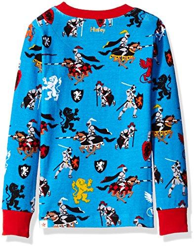Hatley Medieval caballeros Boys larga pijama conjunto (todo sobre impresión) Azul azul 7 años: Amazon.es: Ropa y accesorios