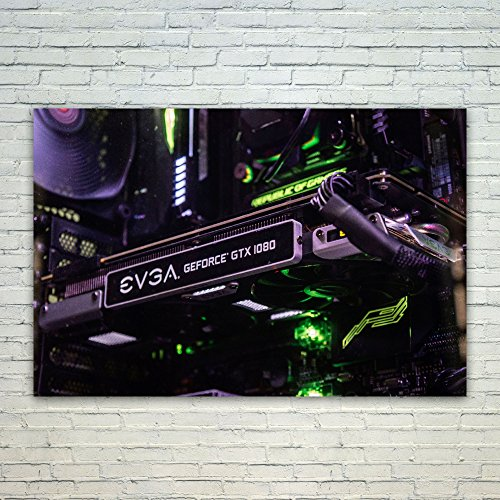 Price comparison product image Westlake Art 8Gb Evga - Poster Print Wall Art - By Modern Picture Photography Home Decor Office Birthday Gift - Unframed 12x18 Inch (a1733z)