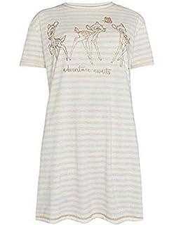 Primark Ladies Nightshirt Disney Bambi Womens Girls Nightdress Nightie Pyjamas UK 6-20 (UK