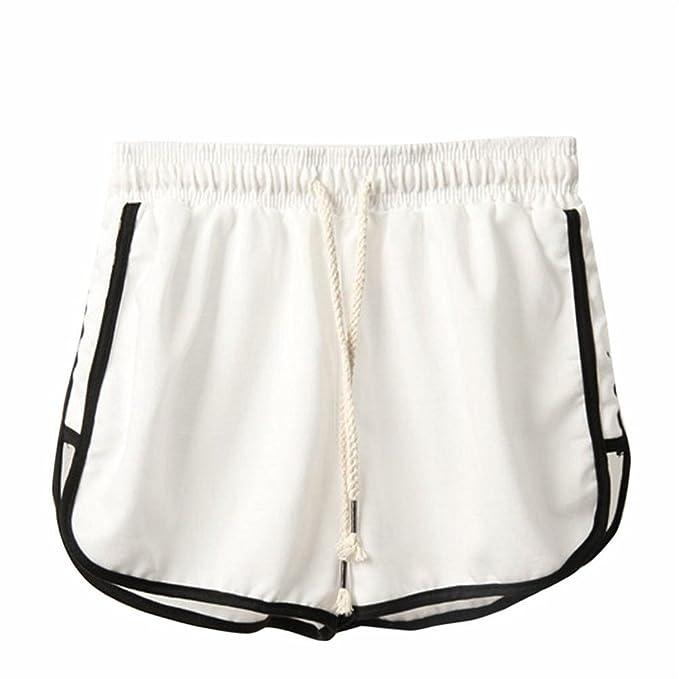 c0b842dcf22a Pantaloncini Donna,Kword Pantaloncini da Spiaggia per Donna, Estate, Pantaloni  Corti Sportivi da Allenamento per Il Fitness: Amazon.it: Abbigliamento