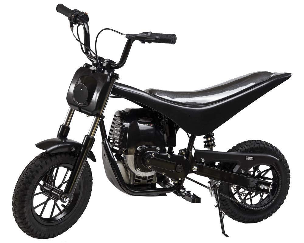 Burromax TT40 ガソリン駆動ミニオートバイダートバイク 子供用   40cc 4ストロークエンジン   22 MPH トップスピード 長持ち設計   オフロードまたはストリートライディングミニバイク用