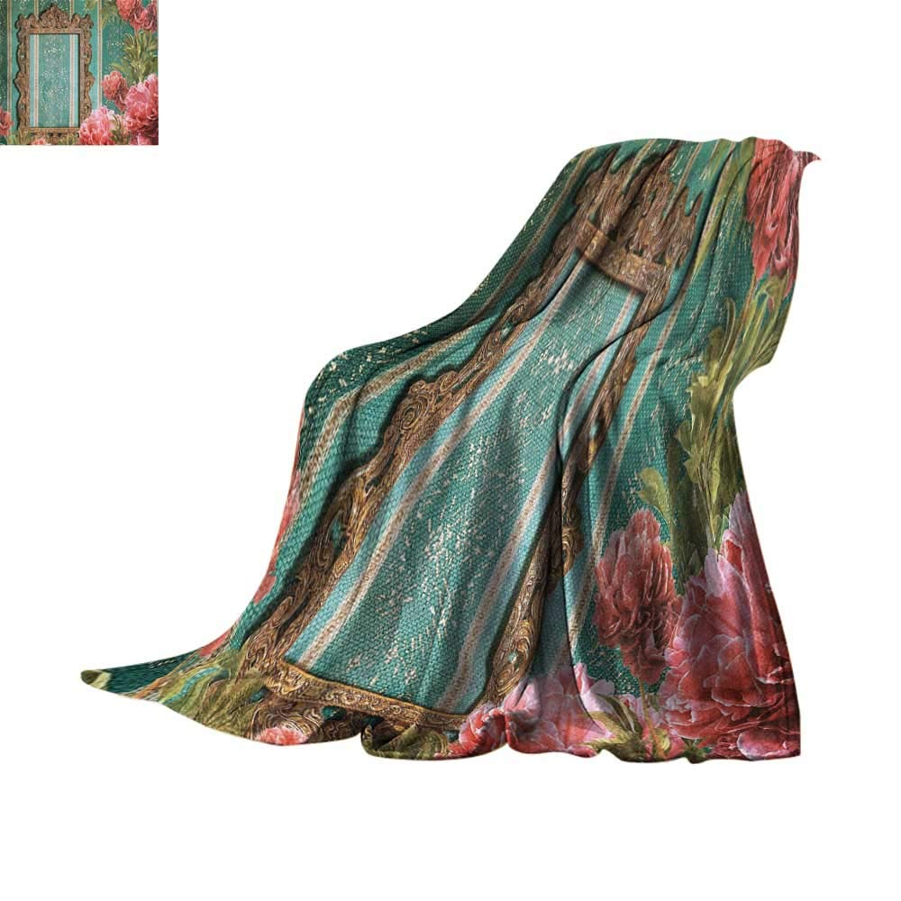 Amazon.com: Homelife - Manta ligera con diseño de vintage ...