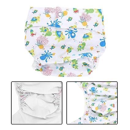 Pañales de tela para adultos para el cuidado de la incontinencia-reutilizables, ajustables,