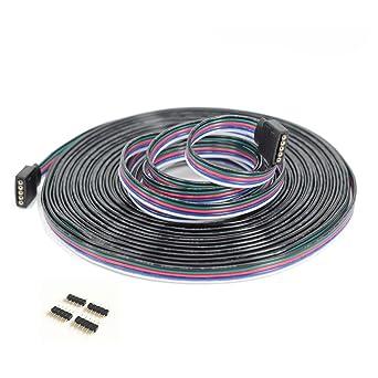 Schnell verbinder Klick Kabel für RGBW LED Strip auf Strip 5-polig Pin Pin