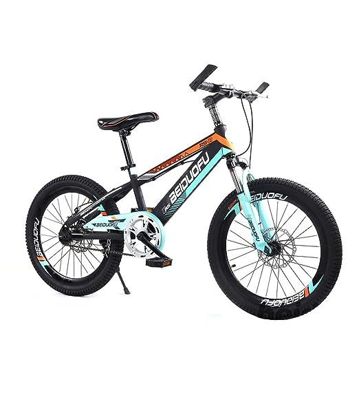 SJSF Y Bicicleta Infantil Niño Y Niña Velocidad Única Rueda De 18 ...