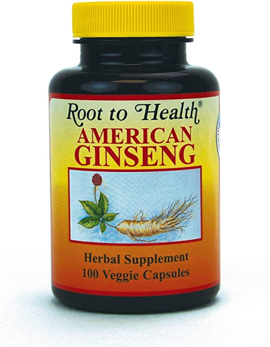 HSU's Ginseng SKU 1001 | American Ginseng Capsules, 100ct | Cultivated American Ginseng from Marathon County, Wisconsin USA | 许氏花旗参丸 | 500 mg 100 ct Capsules Bottle, Panax quinquefolius l, B000153QYG