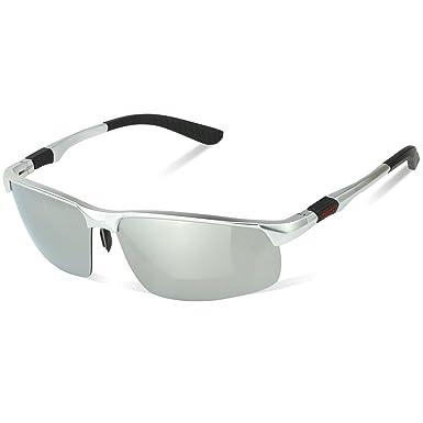 d395d4e9796afe Duco Lunettes de soleil à manches longues pour hommes Lunettes à lunettes  polarisées Lunettes de sport