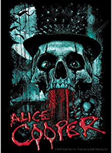 C&D Visionary Alice Cooper Bloody Skull Sticker, Multi Color
