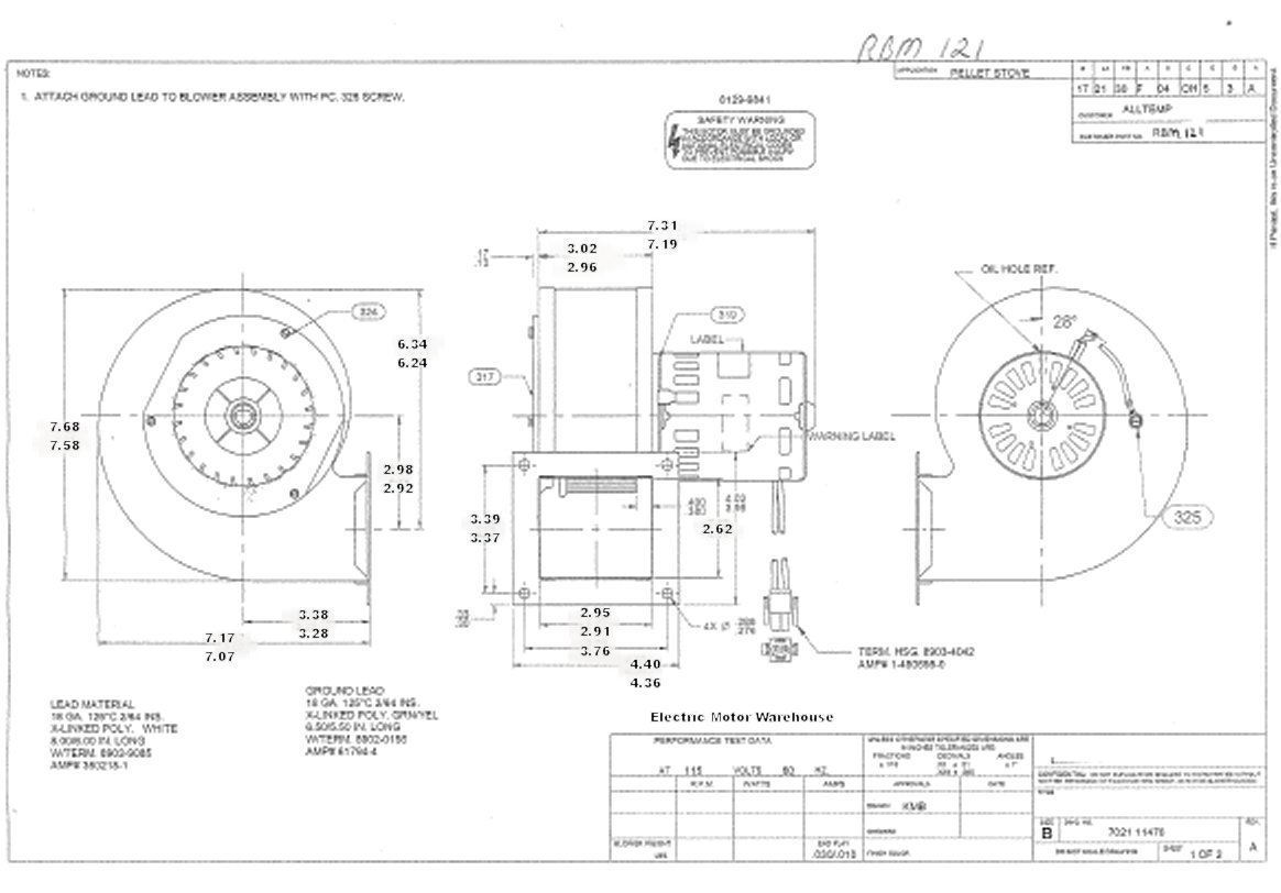 d703 fasco blower motor wiring diagram