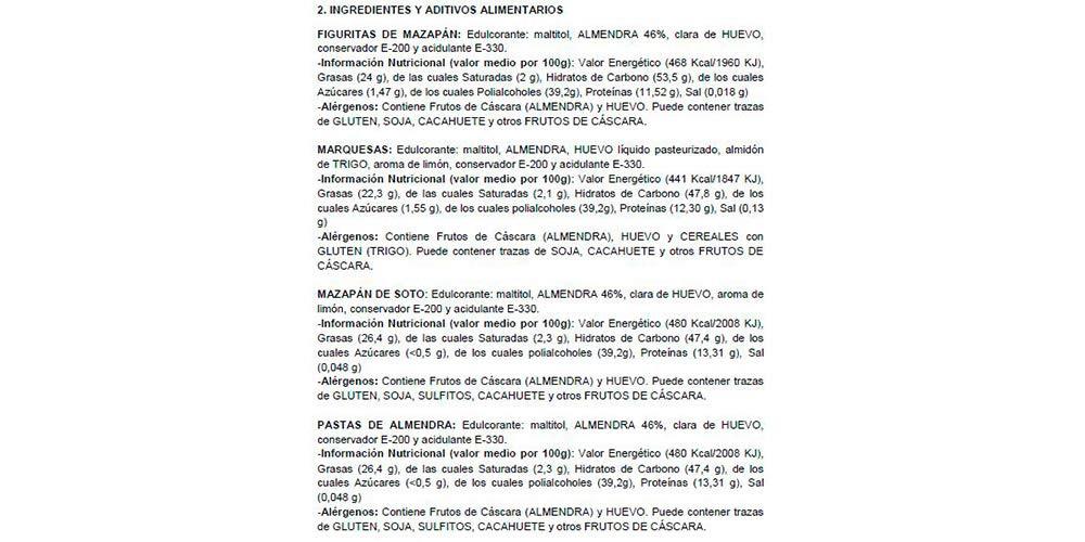 LAPASION - Surtido Mazapanes Sin Azúcar Calidad Suprema 2 Kg: Amazon.es: Alimentación y bebidas