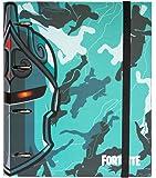 Erik - Archivador de 4 anillas Fortnite Chevalier negro – Tapa dura – 26 x 32 cm