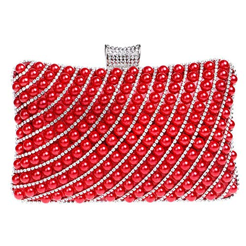 2 main à embrayages Zanpa femmes rouge sacs mode xpUqYH16