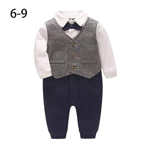Drauiano gentleman Style bebé traje + chaleco volador camisa para ...