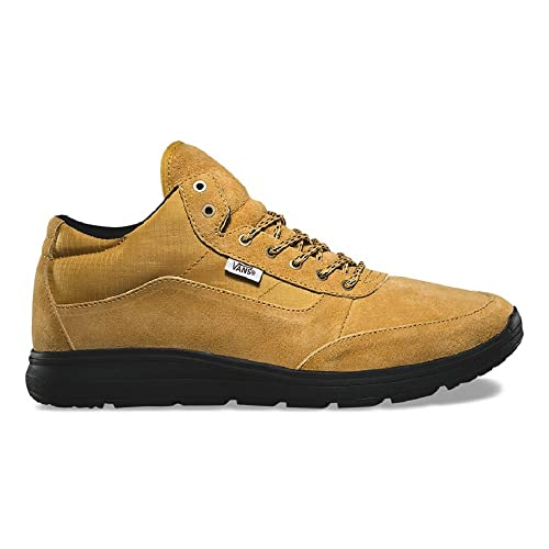 eefed14e24 Image Unavailable. Image not available for. Color  Vans Style 201 Black  Sole Mineral Yellow Black Men s Skate Shoes ...