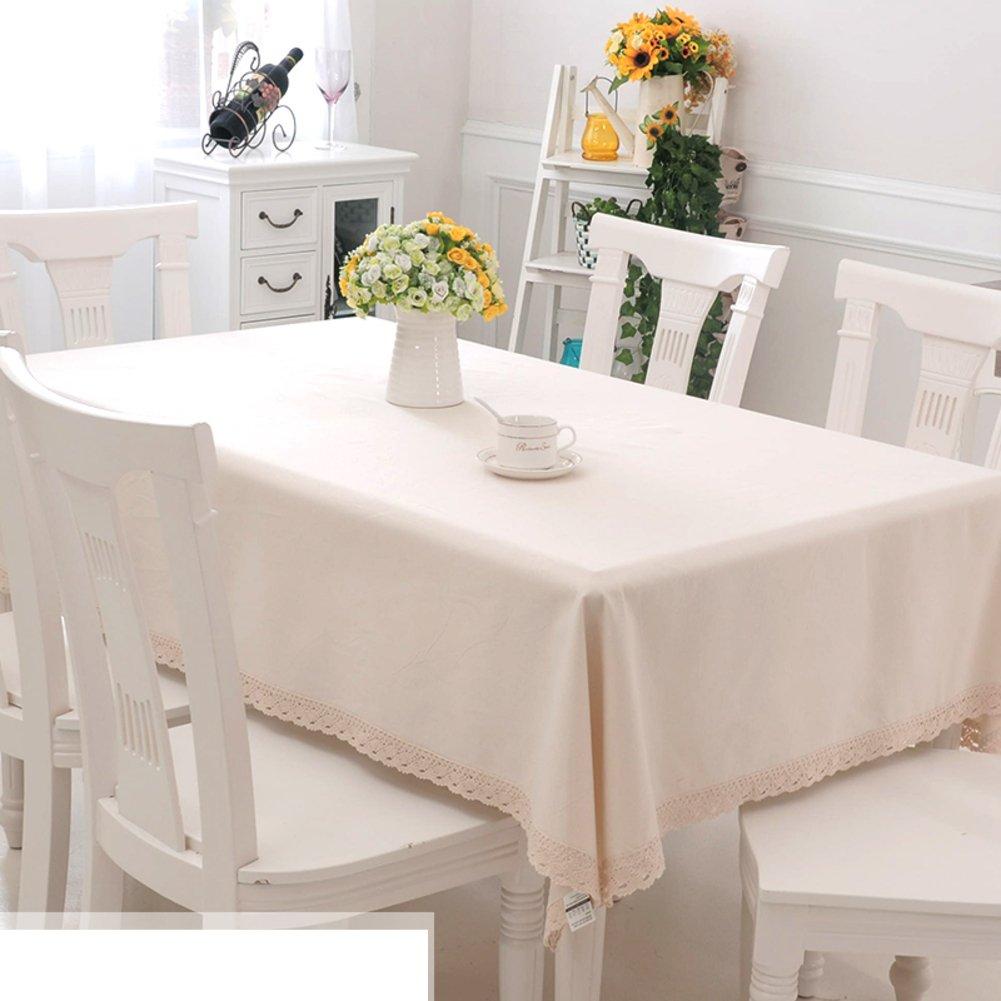 DHYFGFFDRF Tischdecke Tischdecke DHYFGFFDRF Simple Modern Tischdecke Stoffe LÄndlichen Tischtuch Lattice Rechteck Teetisch Bedeckung-tuch-L 100x150cm(39x59inch) 84f07b