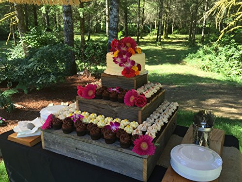 Rustic Cupcake Stand by Perryhill Rustics LLC