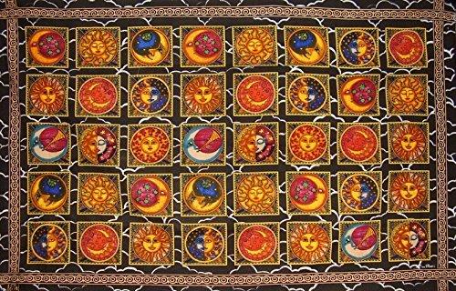 Morris Cotton Tapestry - Benjamin International Dan Morris Celestial Tapestry Cotton Wall Hanging 90