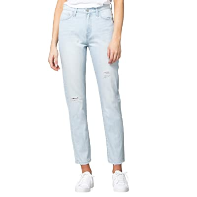 FLYING MONKEY Women's Super High Rise Light Wash Mom Jeans at Women's Jeans store