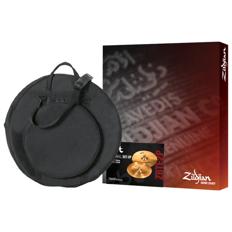 Zildjian ZBT 2 Pack Box Set with 18 Inch ZBT Crash, ZBT 18 Inch China, and Gig Bag by Avedis Zildjian Company