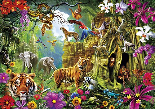 Buffalo Games - Amazing Nature Collection - Jungle Discovery - 500 Piece Jigsaw Puzzle