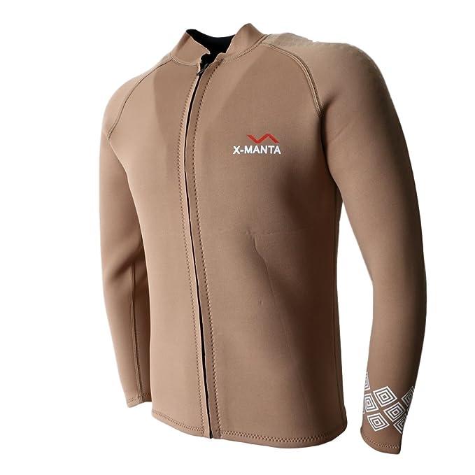 Amazon.com: Baosity 3mm Neoprene Diving Swimsuit Wetsuit ...