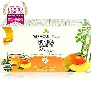 Miracle Tree's Moringa Tea: Mango