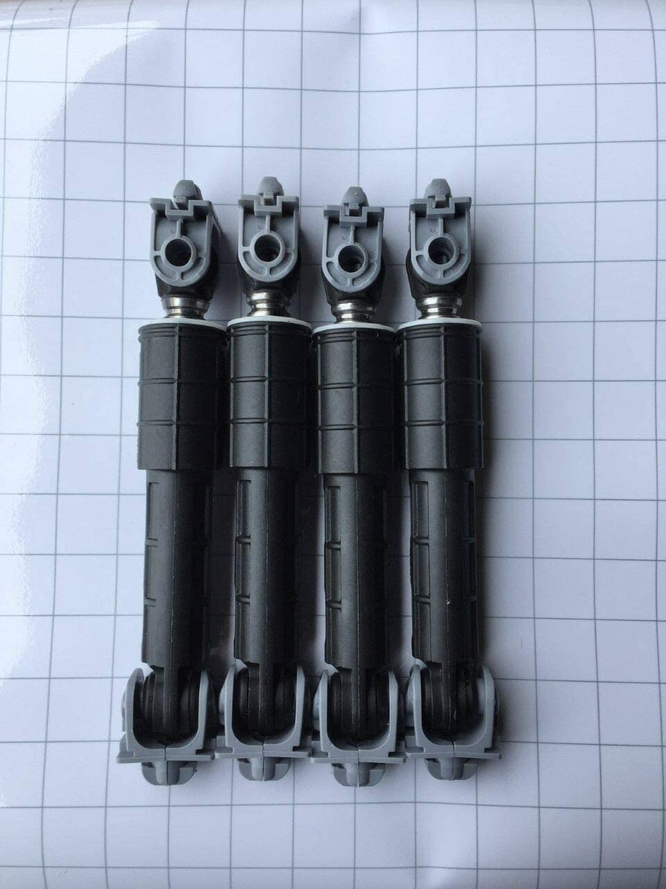 NEW Primeco 4 PACK W10822553, 8182812, Shock Absorber Compatible for Whirlpool W10015830, W10261477 Made by OEM Parts Manufacturer - 2 YEAR WARRANTY