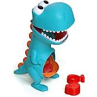 Brinquedo para Bebe Dino Papa Tudo com Acessórios, Elka, Multicor