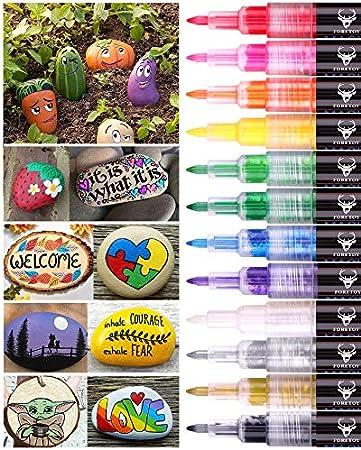 【12 colores disponibles】 Un conjunto de 12 colores, incluyendo verde claro, naranja, rosa, negro, am