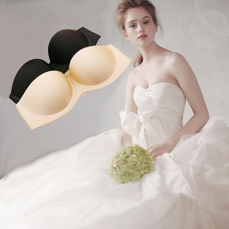 Frauen frei BH klebrigen Seite BH Push-up-BH geeignet Hochzeitskleid ...